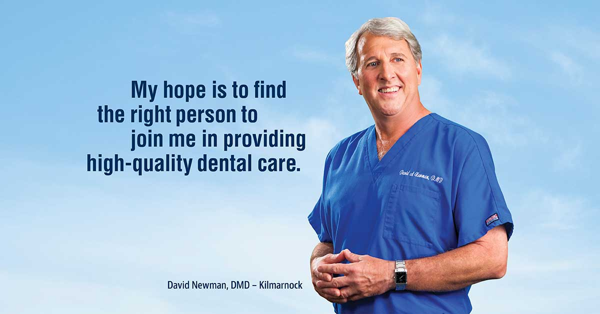Decades of Dentistry: David Newman, DMD of Kilmarnock | Chesapeake Bank