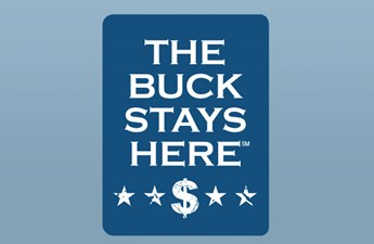 The buck stays here logo (1)