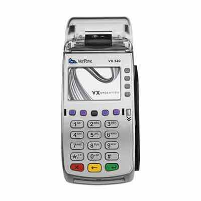 VeriFone VX520 or Ingenico iCT220